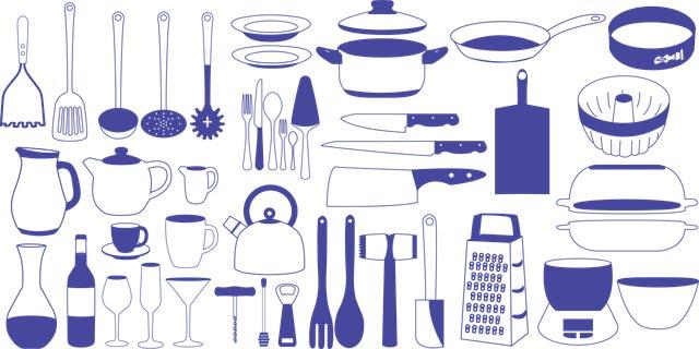 キッチン用品の画像