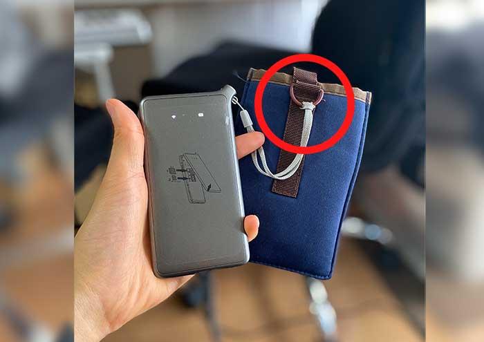 ポケットWi-Fiのケース
