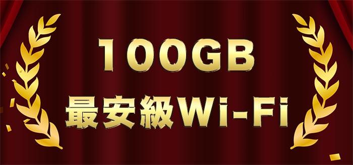 100GBポケットWiFi比較