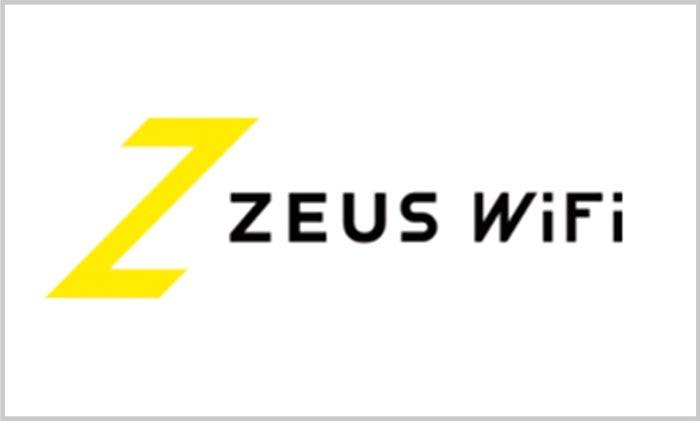 ゼウスWiFiのロゴ