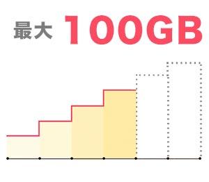 どこよりもWiFiの100GBまで使えるプラン